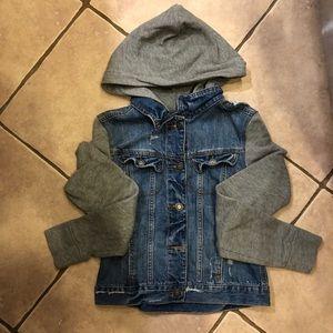 Hollister Jean/Sweatshirt Jacket
